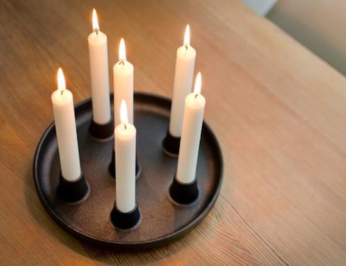 ALLAS CANDELABRA铸铁烛台
