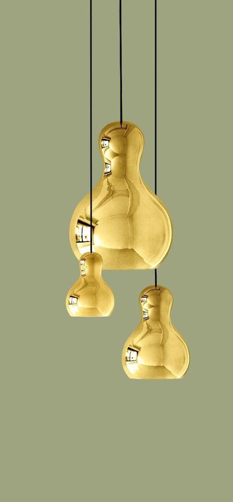 CALABASH P3 GOLD PENDANT LIGHT