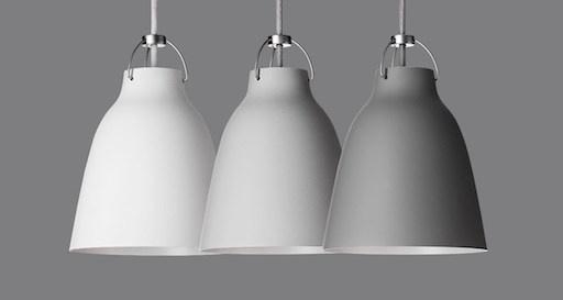 CARAVAGGIO P3 淺灰色吊灯