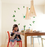 SECTO 4200 PENDANT LAMP IN NATURAL