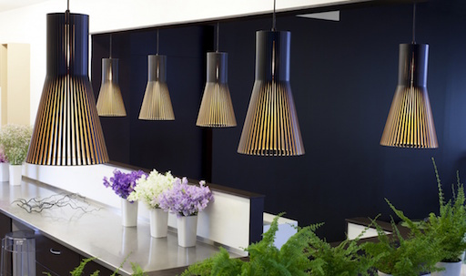 SECTO 4201 PENDANT LAMP IN BLACK