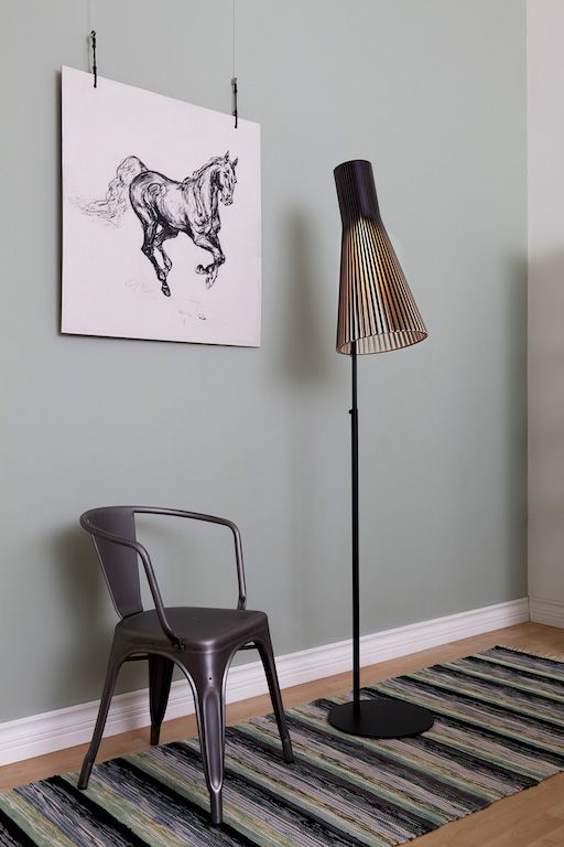 SECTO 4210 FLOOR LAMP IN BLACK