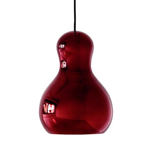 CALABASH P2 紅色吊灯