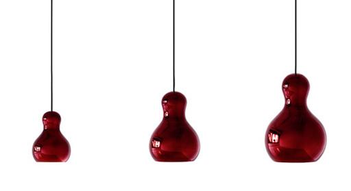 CALABASH P2 RED PENDANT LIGHT