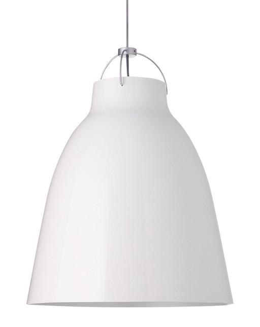 CARAVAGGIO P4 PENDANT LIGHT, WHITE HIGH GLOSS LACQUER
