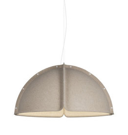 (SHOWROOM ITEM) HOOD LED PENDANT LAMP IN SAND COLOUR