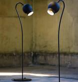 OGLE LED FLOOR LAMP IN BLACK
