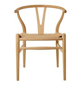 CH24橡木叉骨餐椅