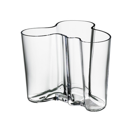 AALTO VASE, CLEAR, 120 MM