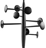 TRUMPET 黑色塗漆衣帽架