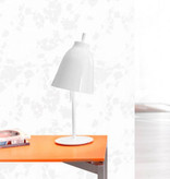CARAVAGGIO T METAL TABLE LAMP IN WHITE