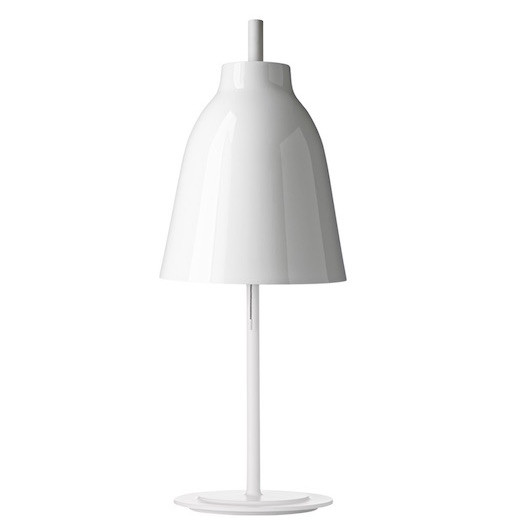 CARAVAGGIO T金属白色高光漆面台灯