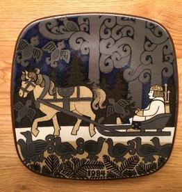 周年纪念陶瓷挂墙碟 (1984)