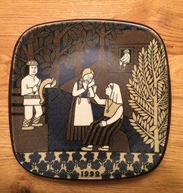 周年纪念陶瓷挂墙碟 (1992)