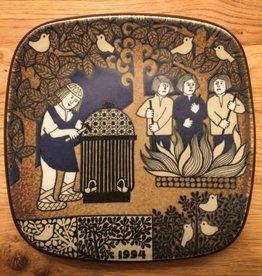 周年纪念陶瓷挂墙碟 (1994)