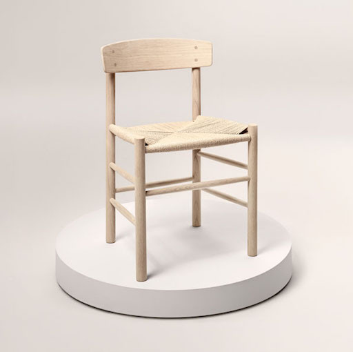 J39 CHAIR IN OAK