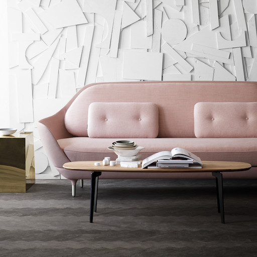JH3 FAVN 淡粉色沙发