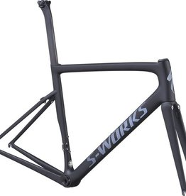 SPECIALIZED® 2019 S-Works Tarmac Rim Frameset 56 cm Large Satin Black/Black Reflective/Clean