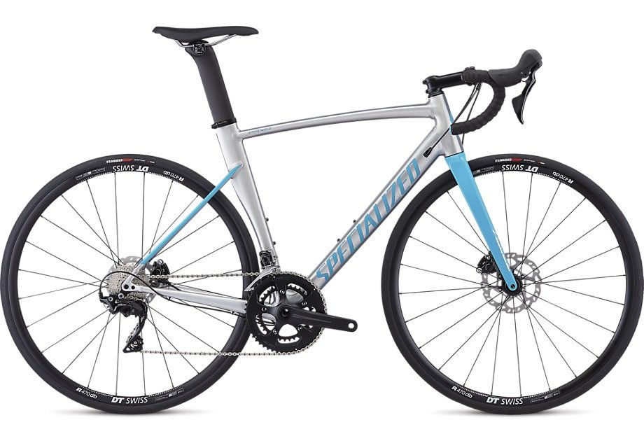 SPECIALIZED® ALLEZ SPRINT COMP DISC BRUSHED/NICE BLUE 56 cm/Large