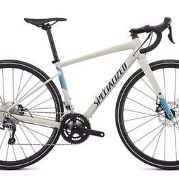 SPECIALIZED® 2019 DIVERGE WOMEN E5 ELITE SATIN WHITE MTN/TROPICAL TEAL/NICE BLUE 52 cm