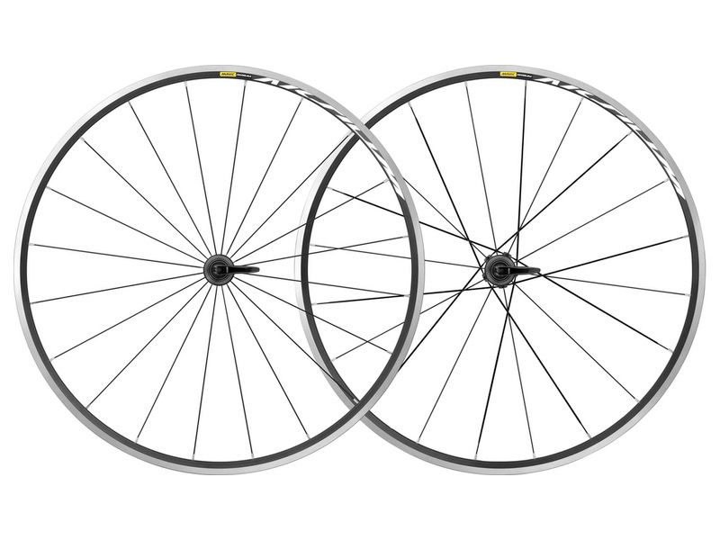 MAVIC® 2019 Aksium Wheelset Pair Rim Brake (No Tyres) 1840 g pair