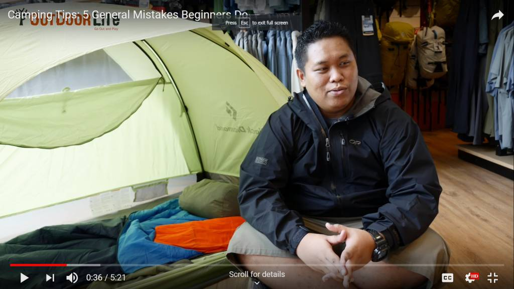 Camping Tips: 5 General Mistakes Beginners Do