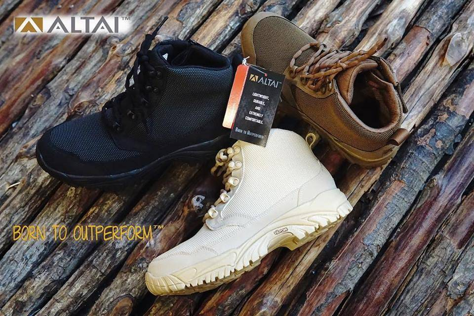 """ALTAI Boots 6"""" in the House!"""