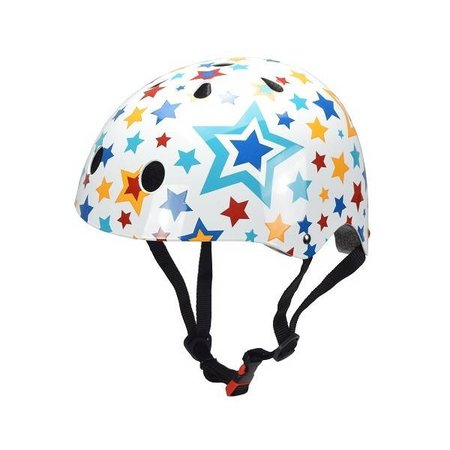 Kiddimoto Kinderhelm Stars Medium