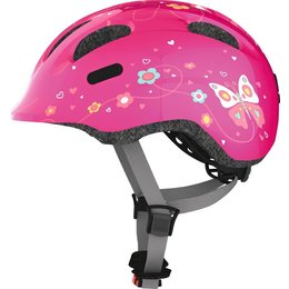 ABUS Kinderhelm Smiley 2.0 Pink Butterfly M