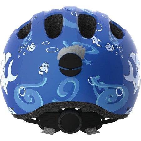 ABUS Kinderhelm Smiley 2.0 Blue Sharky M