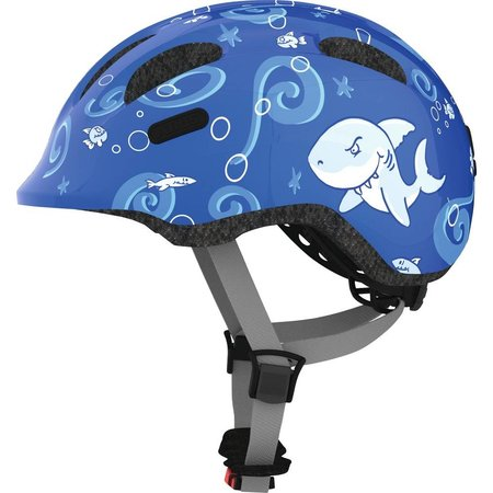 ABUS Kinderhelm Smiley 2.0 Blue Sharky S