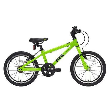 Frog Bikes Kinderfiets 4-5  jaar 'Frog 48' Groen - top of the bill