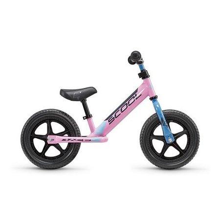 S'COOL Loopfiets PedeX Race - vanaf 2 jaar - roze/blauw/zwart