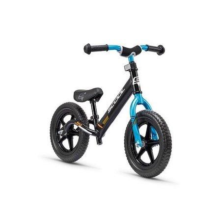 S'COOL Loopfiets aluminium PedeX Race Light - vanaf 2 jaar - zwart met blauw