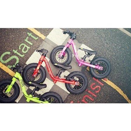 Frog Bikes Loopfiets Tadpole Mini Roze - luxe voor 1-2 jaar!