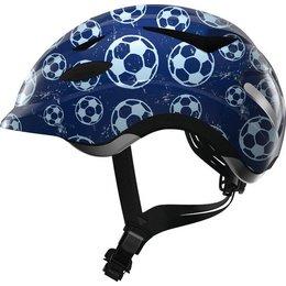 ABUS Kinderhelm Anuky Blue Soccer M
