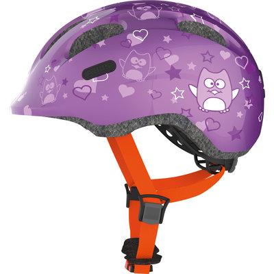 ABUS Kinderhelm Smiley 2.0 Purple Star M