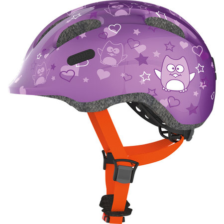 ABUS Kinderhelm Smiley 2.0 Purple Star M