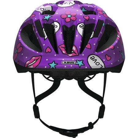 ABUS Kinderhelm Smooty 2.0 Purple Kisses M