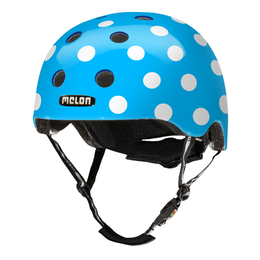 Melon Kinderhelm Dotty Blue XXS-S