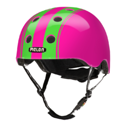 Melon Kinderhelm Dubble Green Pink XXS-S
