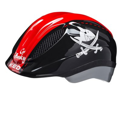 KED Kinderhelm Meggy Originals Sharky Red XS