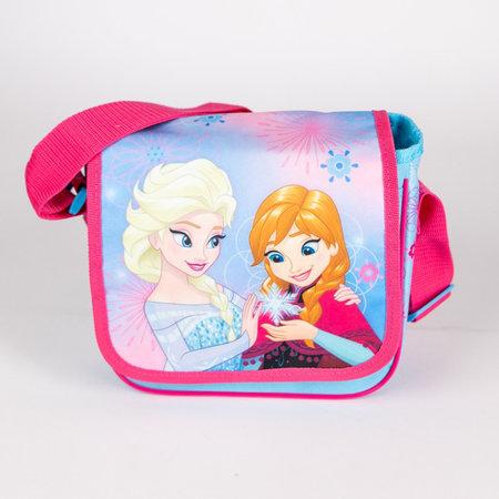 Kinderfietstas Frozen Elsa en Anna