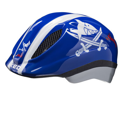 KED Kinderhelm Meggy Originals Sharky Blue S