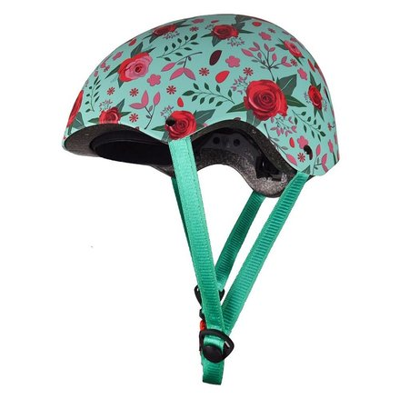 Kiddimoto Kinderhelm Mate Floral Medium