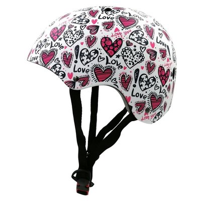 Kiddimoto Kinderhelm Love Medium