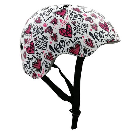 Kiddimoto Kinderhelm Love Small