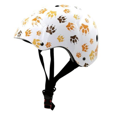 Kiddimoto Kinderhelm Paws Medium