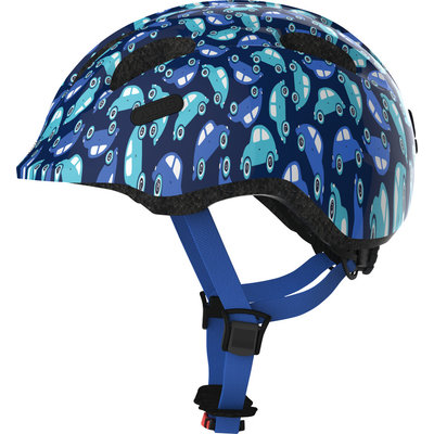 ABUS Kinderhelm Smiley 2.0 Blue Car S
