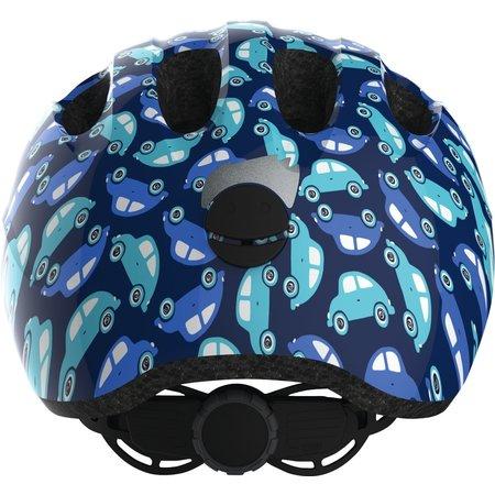 ABUS Kinderhelm Smiley 2.0 Blue Car M
